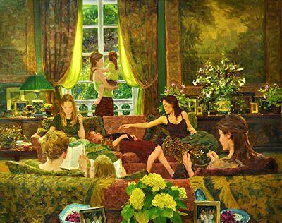 Hettinger, David (1946-...) Sunday with the girls