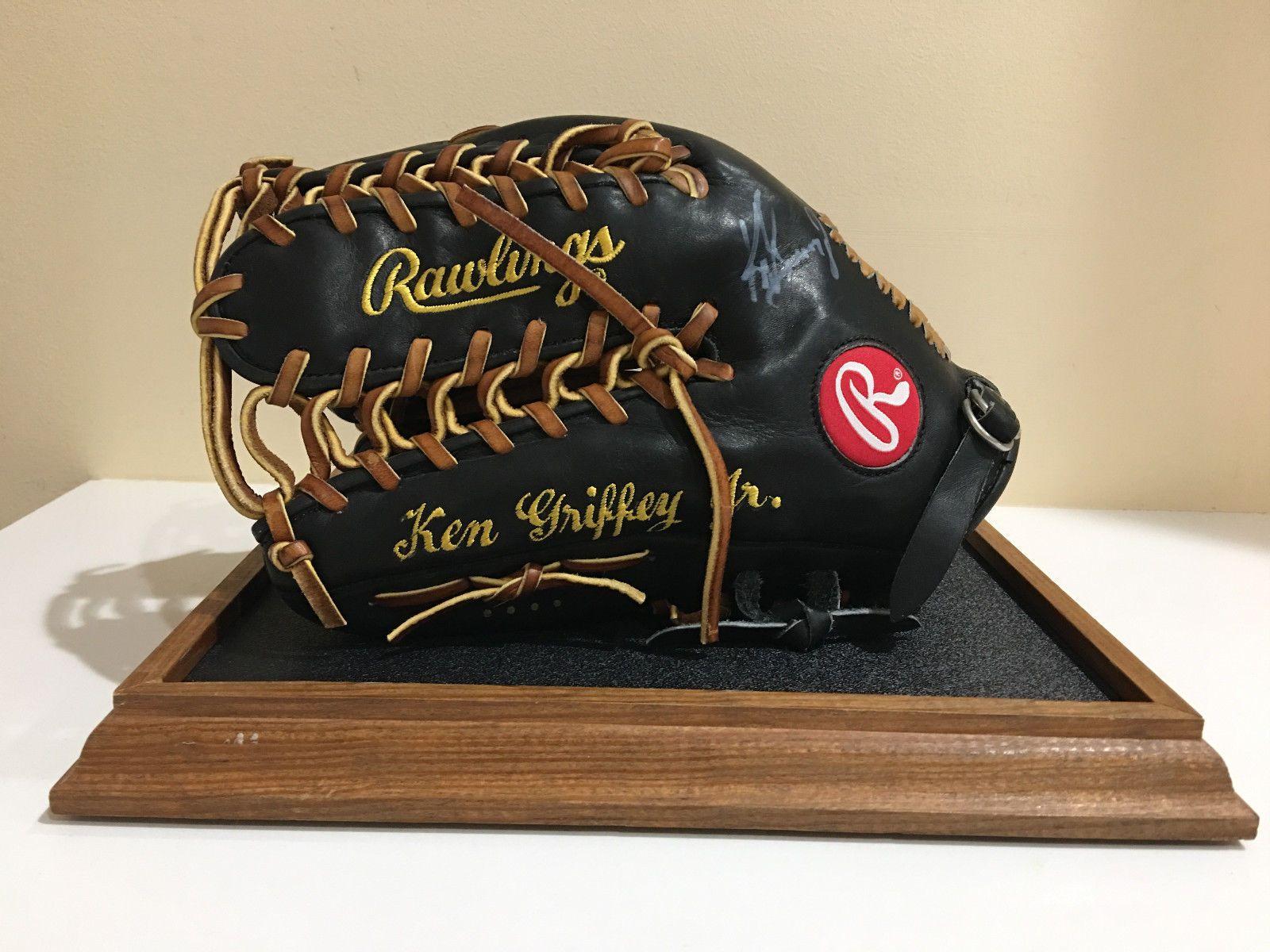 116b1590b1c Ken Griffey Jr signed Pro JR24S0 Rawlings Upper Deck Seattle Mariners Glove