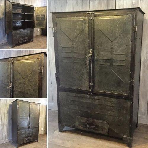 Ancien Fumoir Decoration Loft Diy Meuble Mobilier
