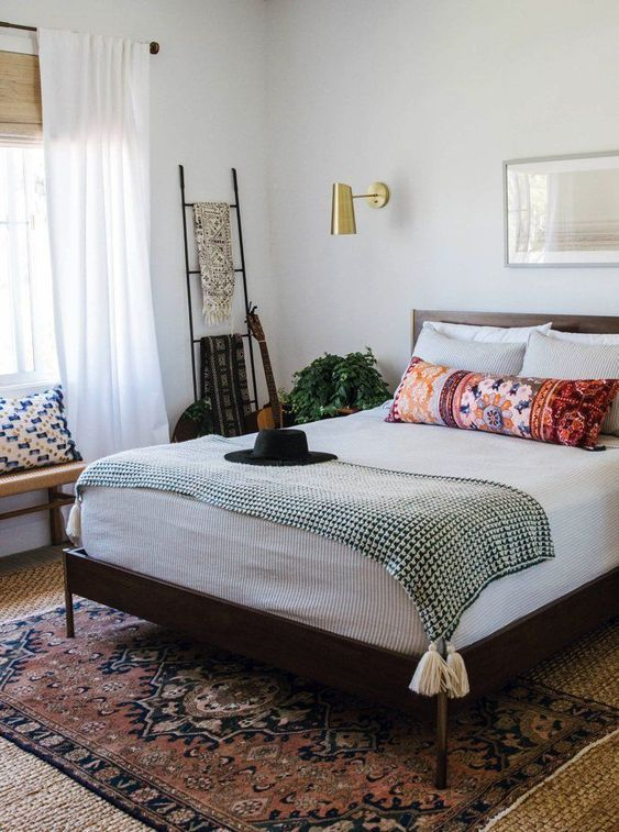 11 Awesome Bohemian Master Bedroom Design Ideas | Modern ...