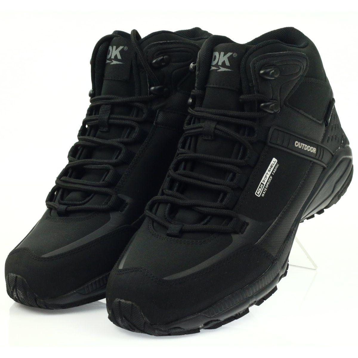 Trekkingowe Damskie Dk Buty Trekkingowe Softshell Dk 1751 Czarne Dc Sneaker Sneakers Shoes