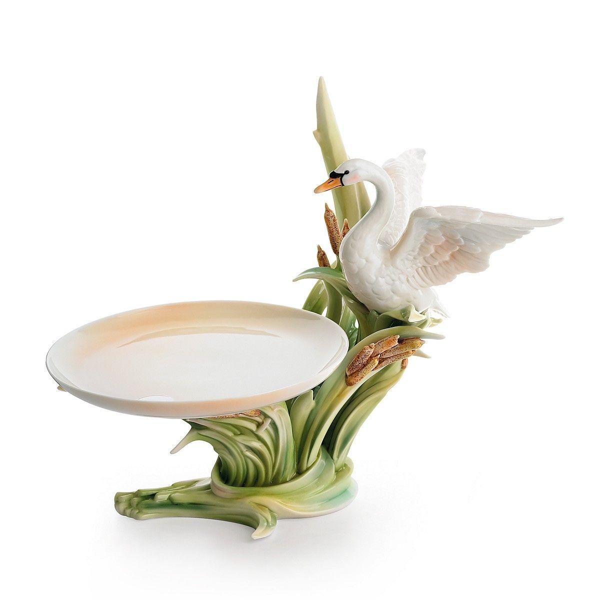 Swan Lake Candy Dish in 2020 Porcelain, Fine porcelain