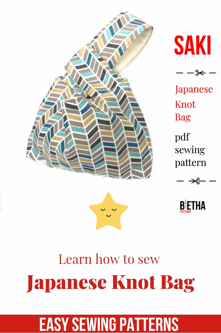 Photo of Easy to sew: Japanese Knot Bag