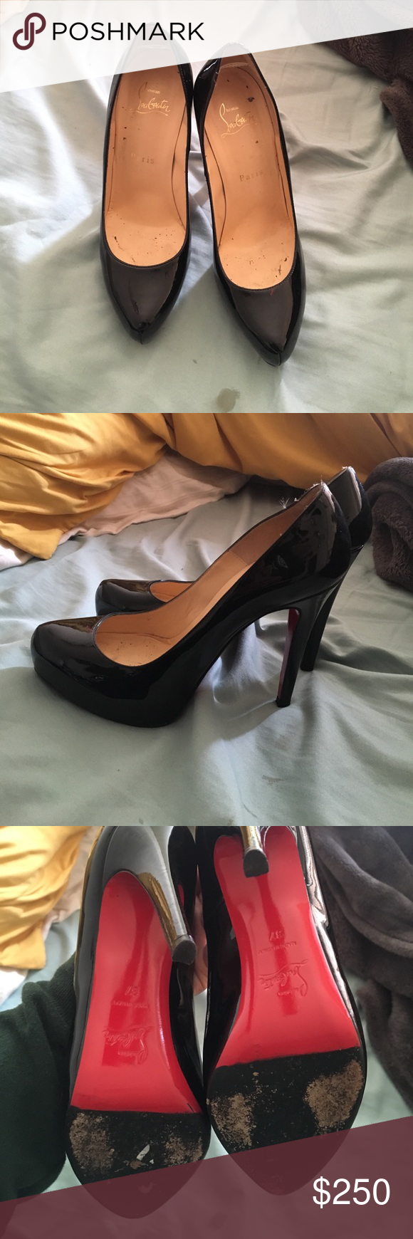 feac857ec32 Refurbished Christian Louboutins Bought from Nordstrom rack used ...