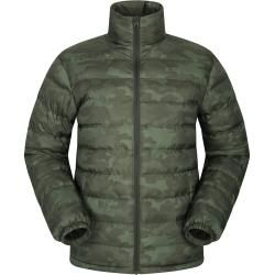 Photo of Vista Men's Quilted Jacket – Patterned – Green Mountain WarehouseMountain Warehouse