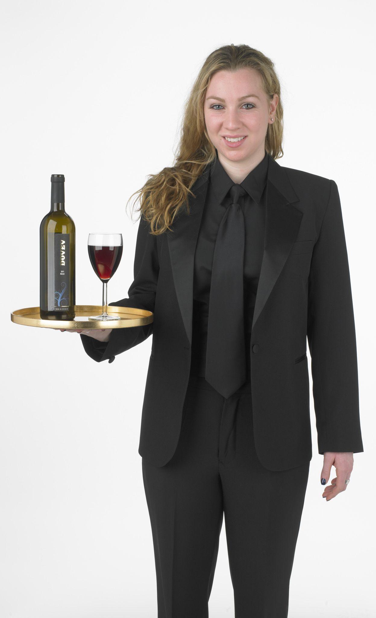 https://flic.kr/p/HTVgAz | All Black Waitresses Uniform