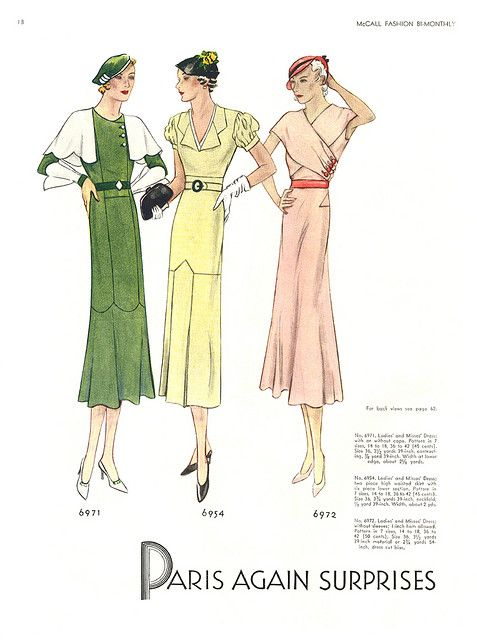 McCalls Fashion By-Monthly, 1932, Jul-Aug