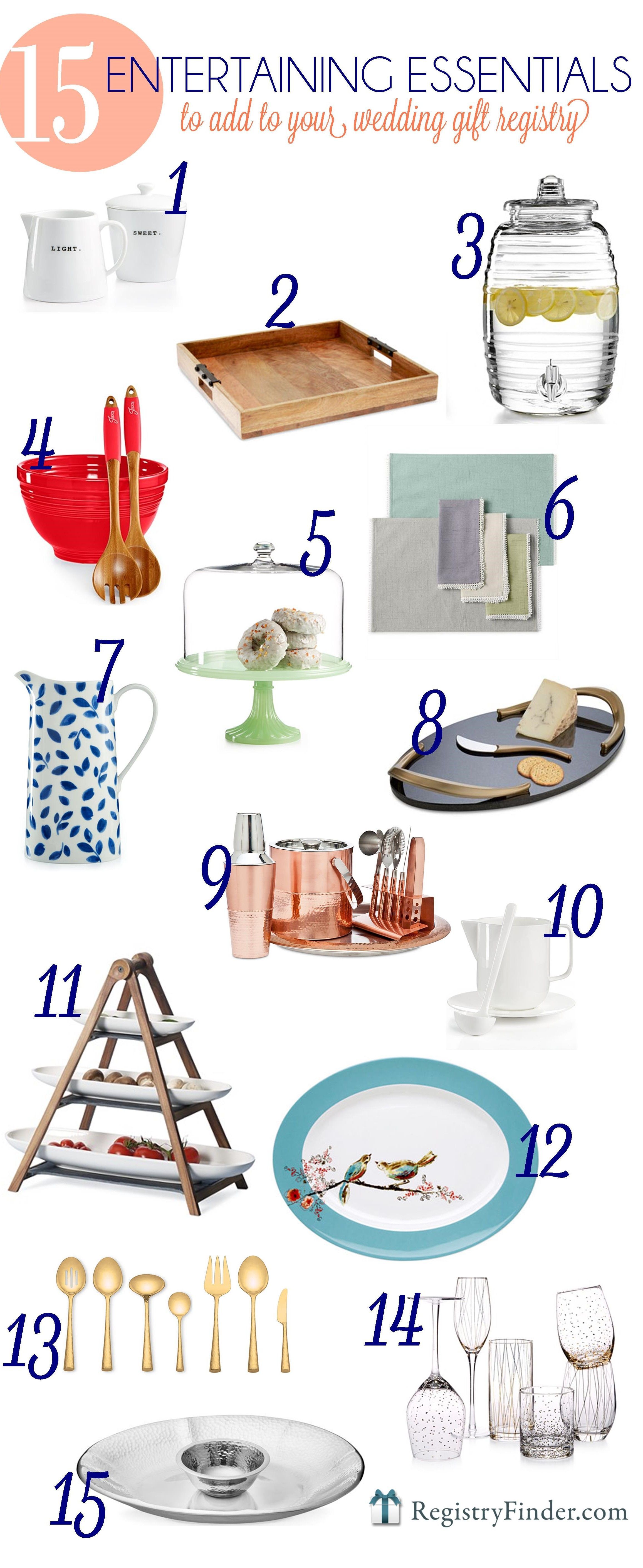 Entertaining Essentials Top 15 Pieces to add to Your