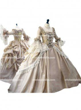 Top Sale Georgian Period Dress 18th Century Marie Antoinette Stain Masquerade Ball Gown Party Dresses Victorian Era Dresses Steampunk Dress Rococo Dress
