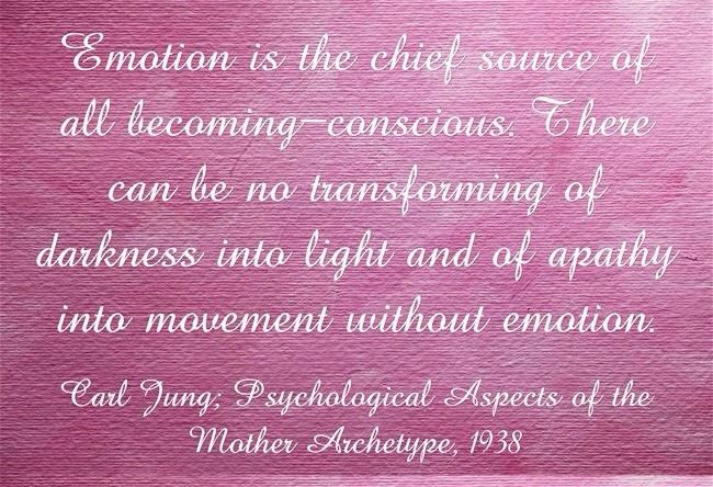 Emotions - Carl Jung