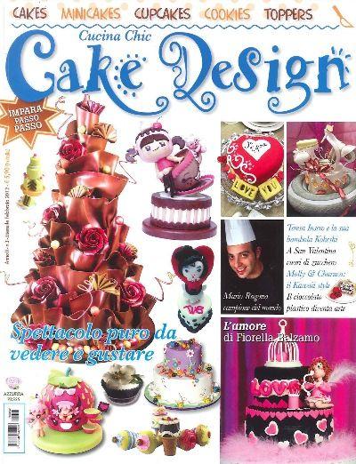 Miss Cake for Cucina Chic Cake Design magazine with her valentine\'s ...