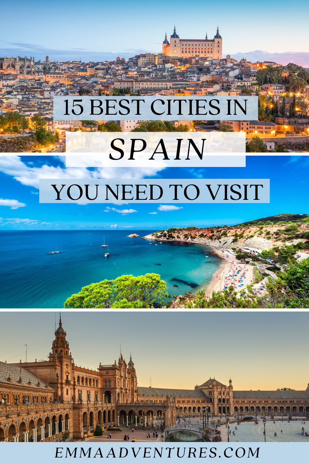 The Best Places To Visit In Spain Spain Culture Places In Spain Beautiful Places In Spain