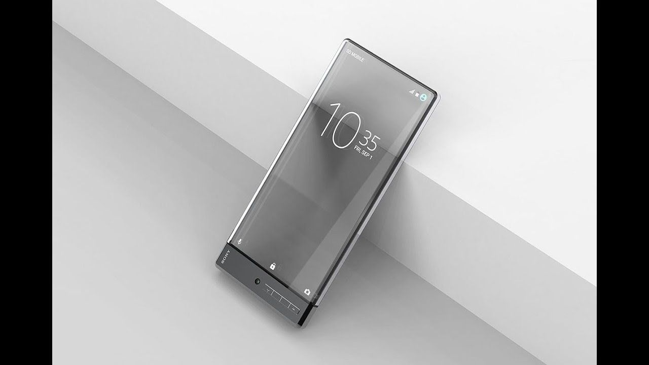 Gsmarena Sony Xperia Z Pureness With Transparent Screen