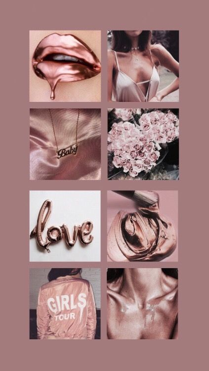 Pin By Thais Marie On Backgrounds Rose Gold Aesthetic Gold
