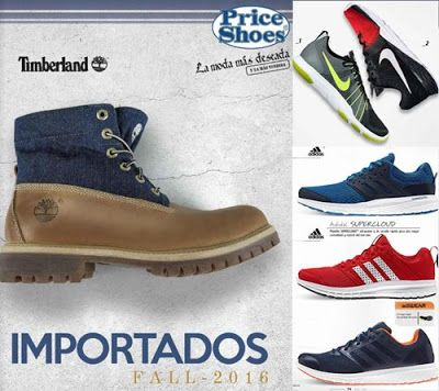 b90c9b84 Catalogo Price Shoes Importados Fall 2016. Zapatos de moda de marca. Botas  de hombres