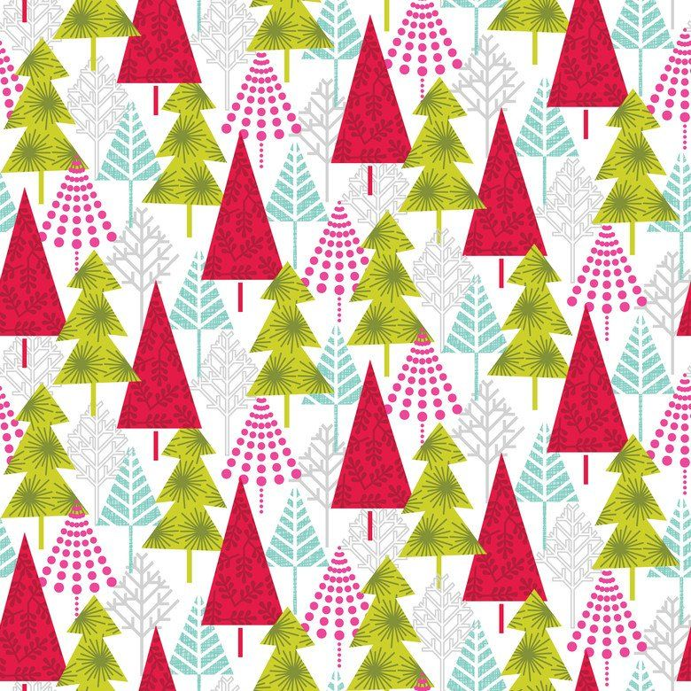 Hip Holiday 114 103 03 1 Modern Christmas Patterns | Gift tags ...