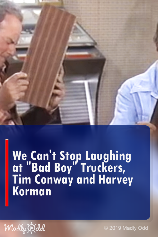We Can T Stop Laughing At Bad Boy Truckers Tim Conway And Harvey Korman With Images Funny Vidio Funny Sketches Harvey Korman