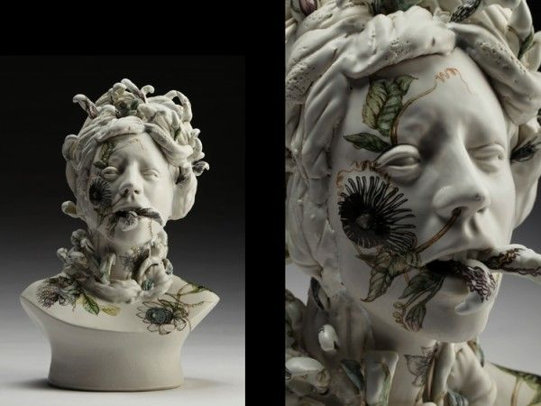 Viral Seriesas, surreal ceramic sculptures   Jess Riva Cooper