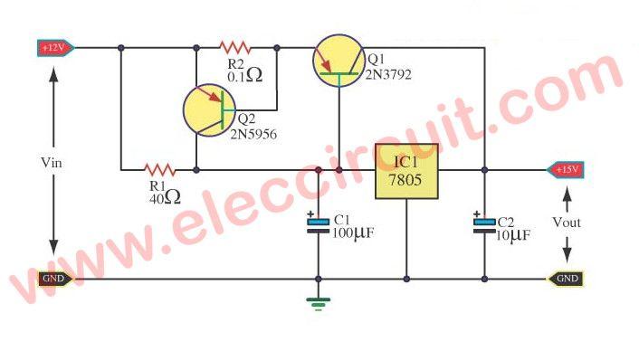 Boosting The Regulator Currents For Ic 78xx Elektronik Pinterest