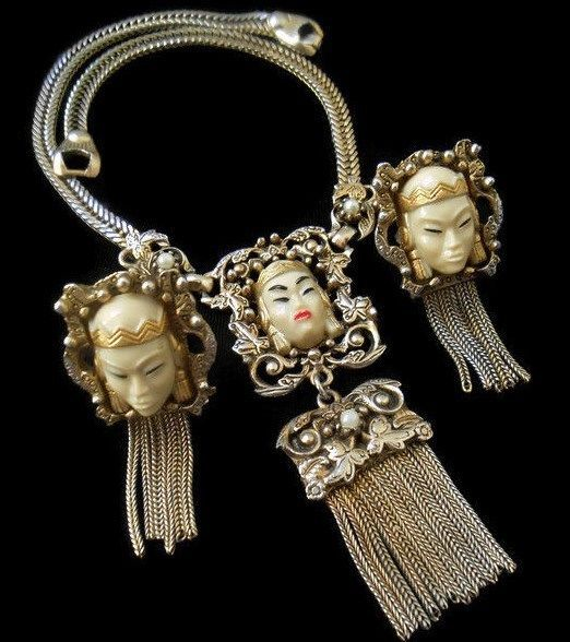Antique estate asian jewelry
