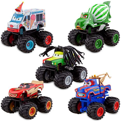 monster truck mater deluxe figure set - Monster Truck Mater Coloring Page