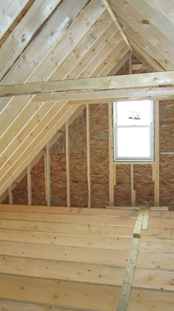 How feasible is it to remodel your attic expansion for How much do roof trusses cost