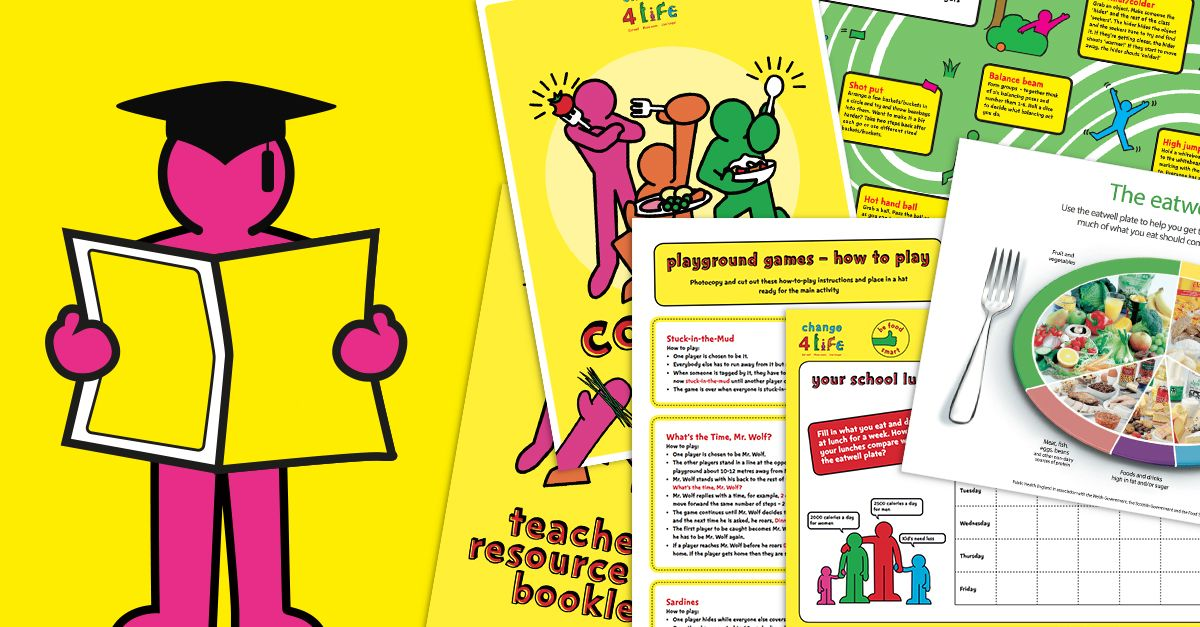 Pin by Change4Life on Teaching PE School lessons