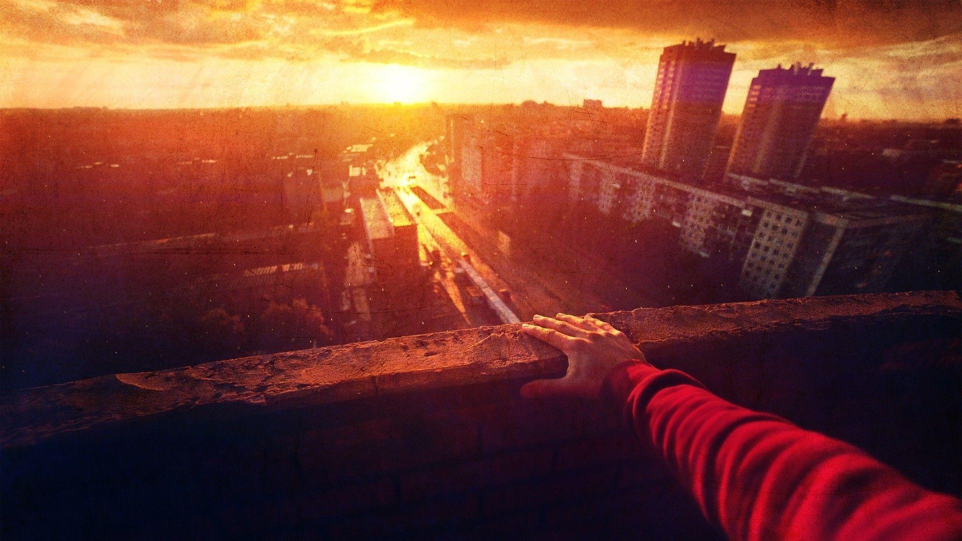 City Sunset Wallpaper 3462