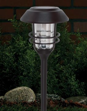Patriot Lighting 2 Pack Putney Solar Landscape Light With