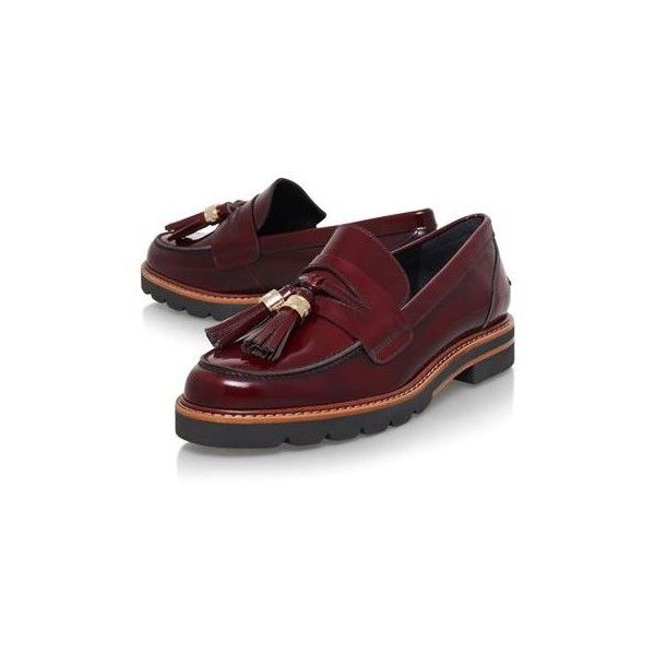 Stuart Weitzman Manila Tassel Loafers (1.185 BRL) ❤ liked on Polyvore  featuring shoes,