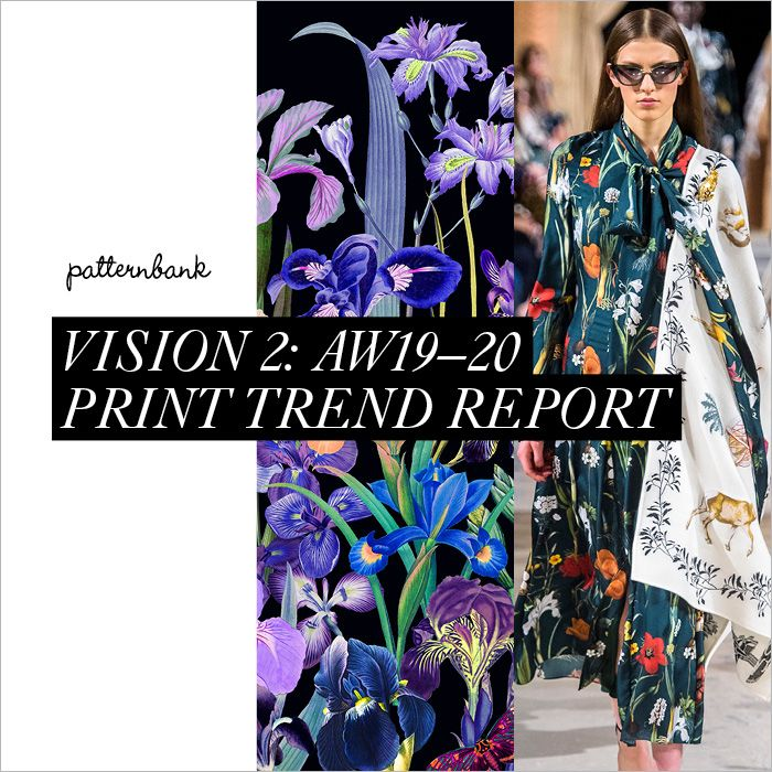 Design Print Trends: Vision 2: Autumn/Winter 2019/20 Print & Pattern Trend