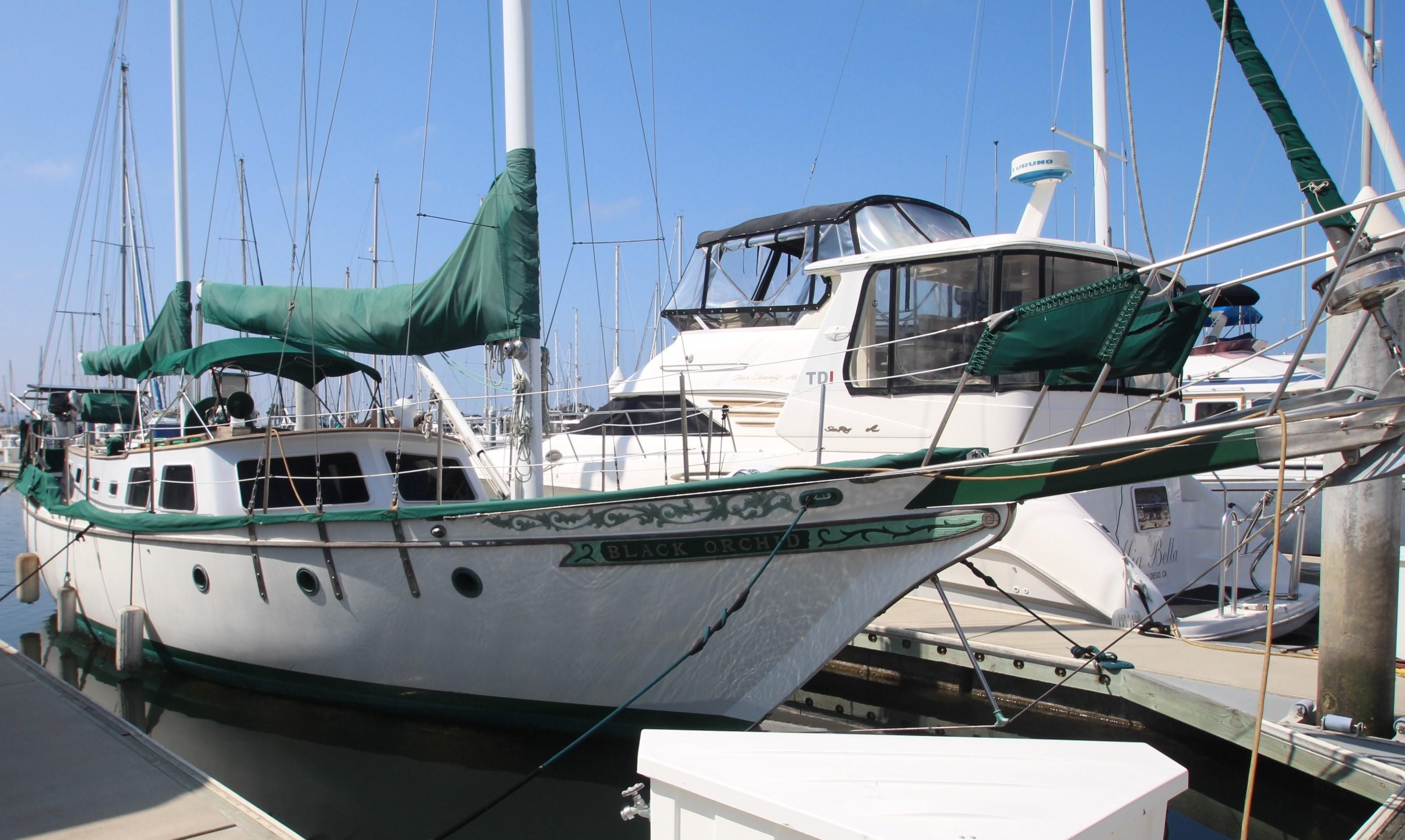 1984 Hudson Ketch Sail Boat For Sale - www yachtworld com
