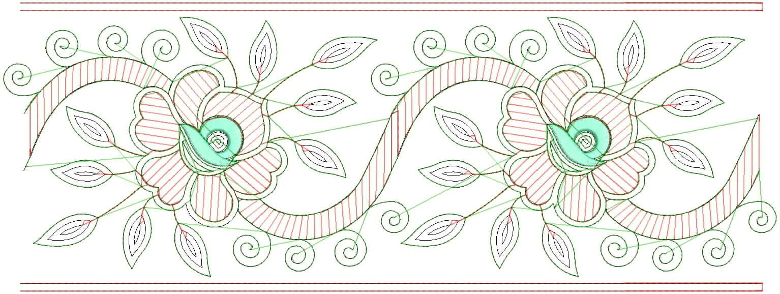 Hand Embroidery Designs | Free Hand Embroidery Designs For Sarees Border | Hand Embroidery ...
