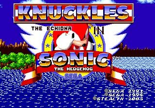 Knuckles The Echidna In Sonic The Hedgehog Sonic The Hedgehog Sonic Sega Mega Drive