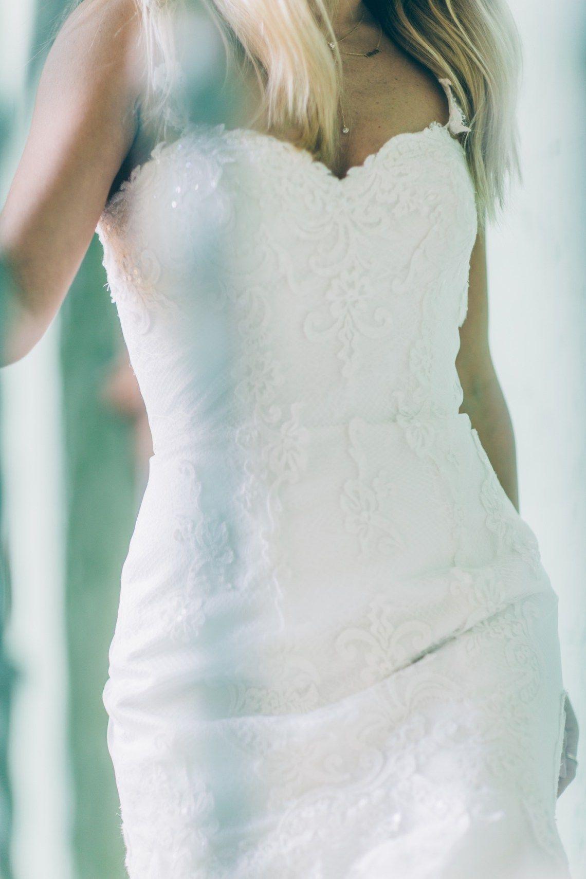 Nikole Powers wearing Rosa Clara Bridal | Rosa Clará - Real Brides ...