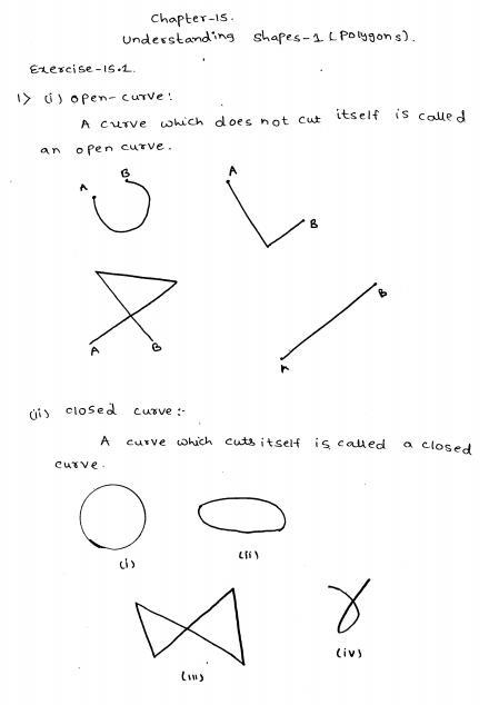 Understanding Shapes I Polygons Rd Sharma Class 8 Solutions Class 8 Understanding Solutions