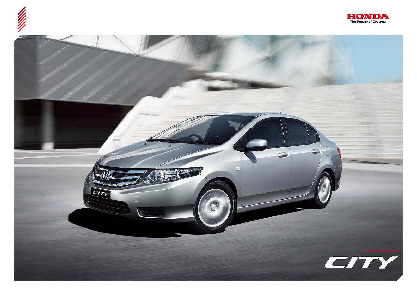 Honda city mk5 new zealand brochure 2012