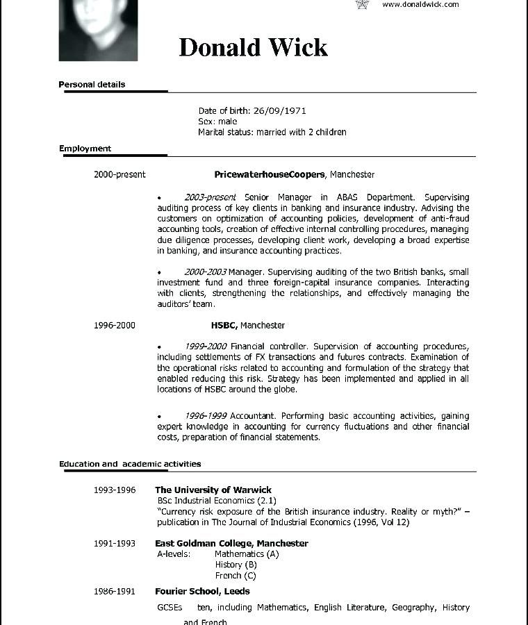 free resume to download professional resume format download ...