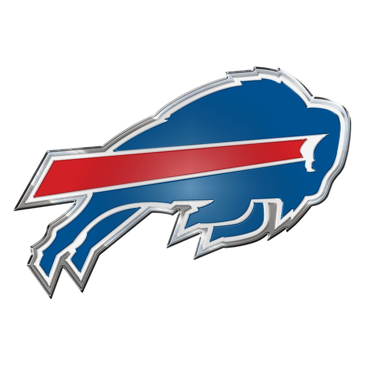 Buffalo Bills - Color Team Emblem - NFL Multi-Color
