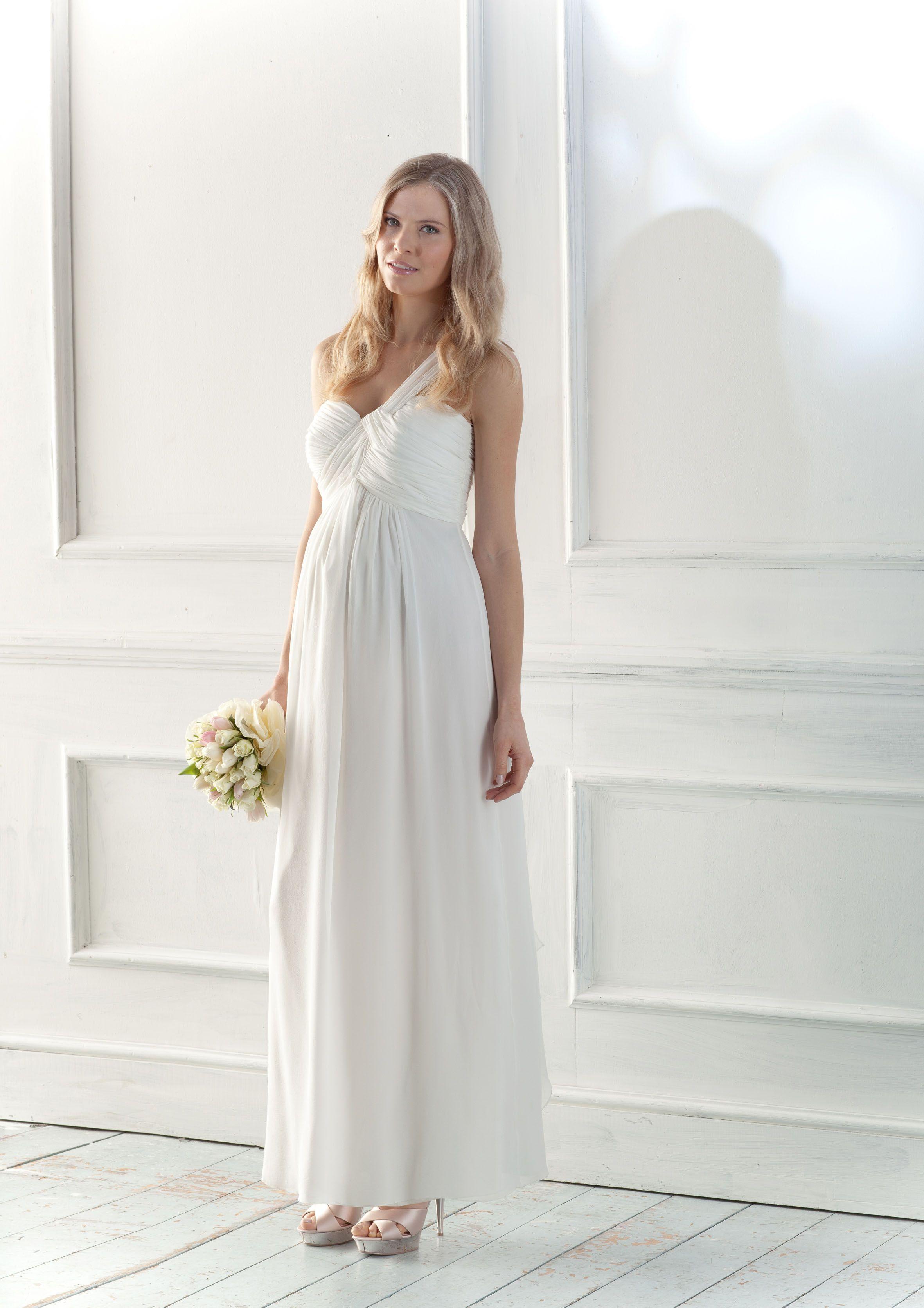 Épinglé sur * Robe de Mariée enceinte **