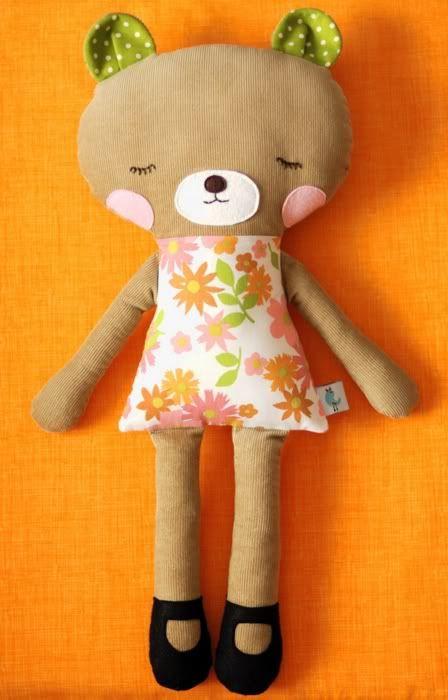bear softie | Stuff to sew - softies | Pinterest | Handarbeiten und ...