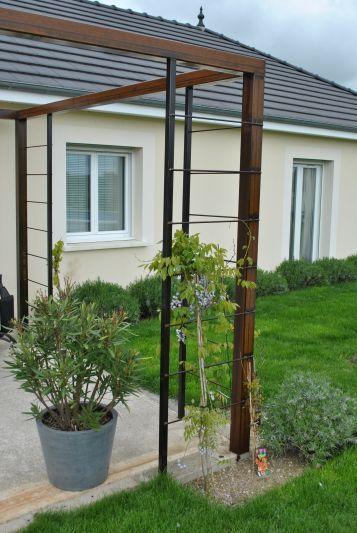 Pergola Acier Autoconstruction : pergola acier en autoconstruction 29 messages terrasse et pergola en ~ Farleysfitness.com Idées de Décoration