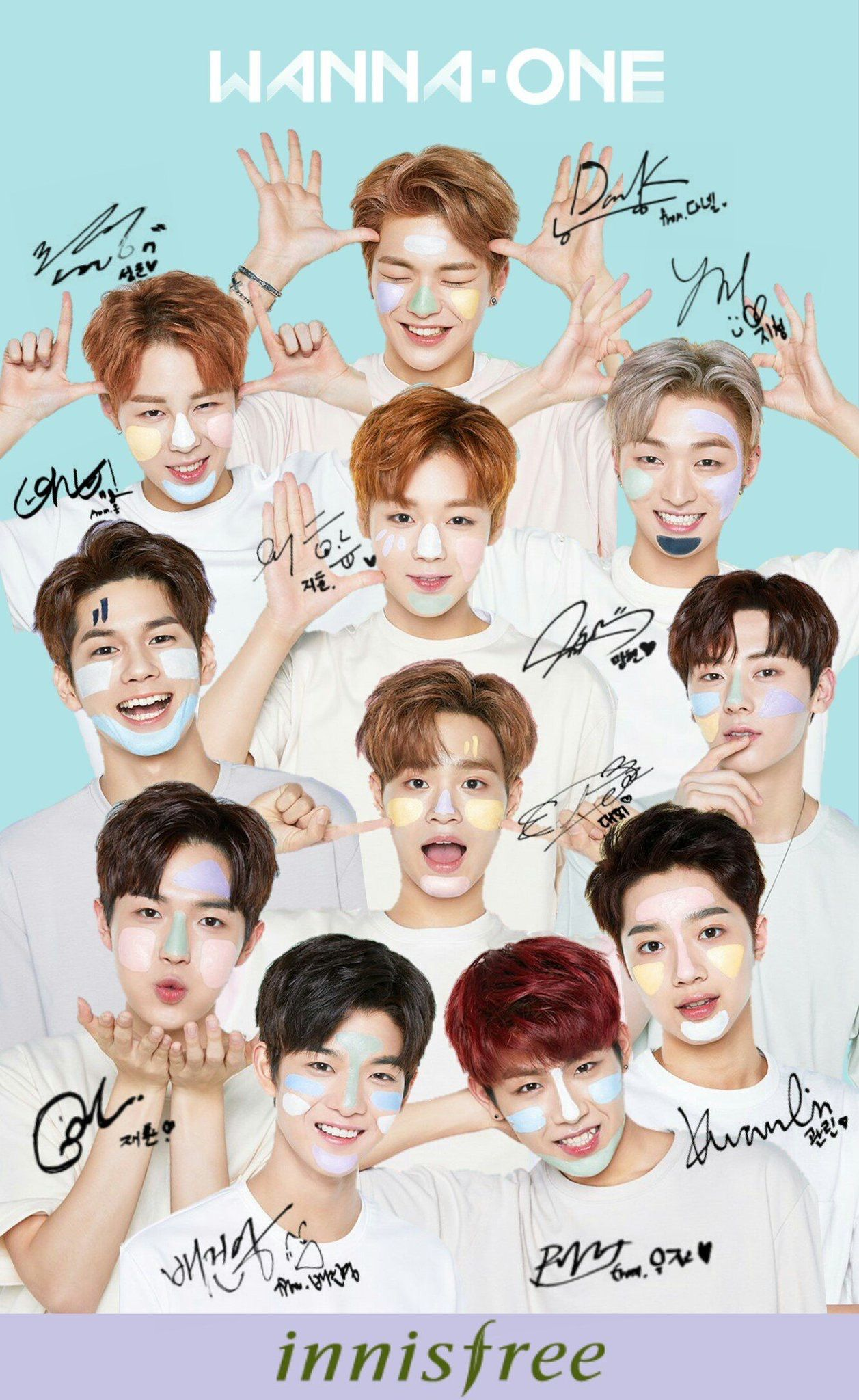 Wannaone Wallpaper Kpop Wallpaper Pinterest Produce 101 Kpop