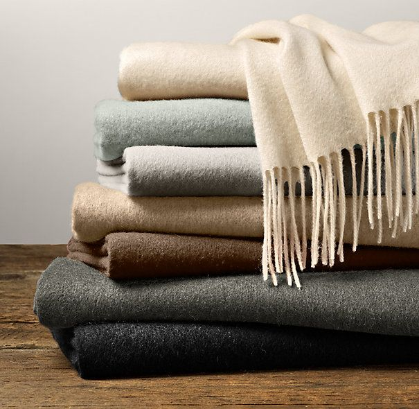 Restoration Hardware Sofa Throws: Home Is Where The Heart Is