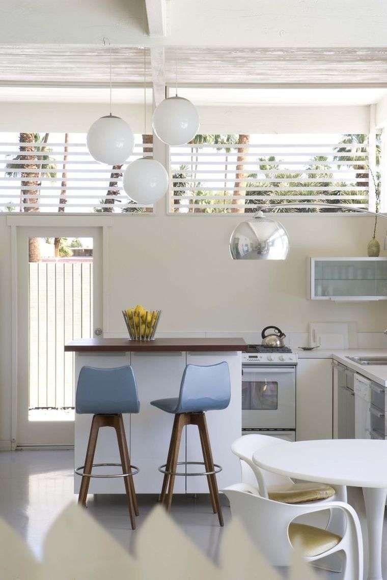 Cucina piccola con isola - Isola della cucina minimal