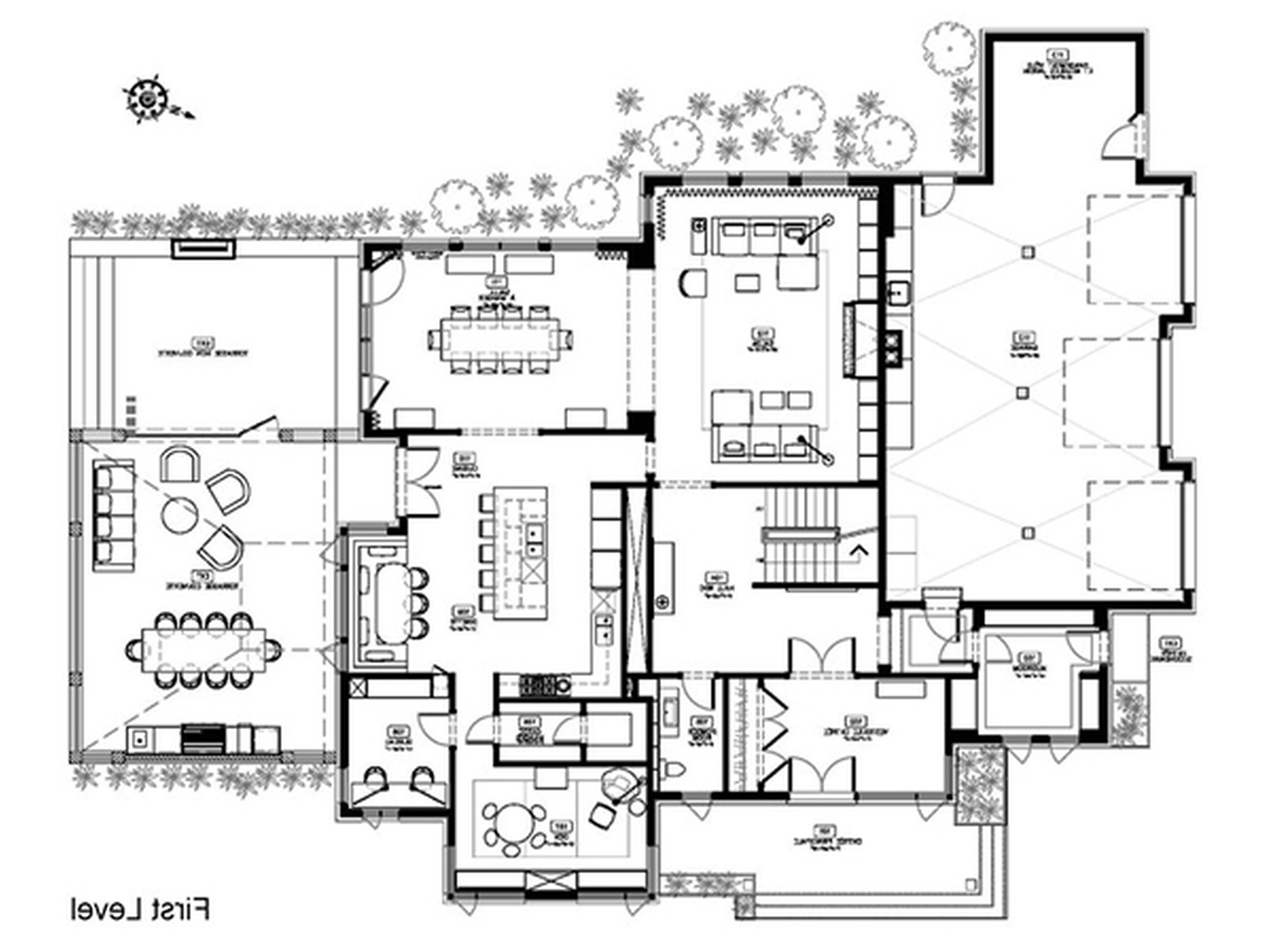 Cool modern house plans - Architecture Black Houses Architect Architectural Design Lovable Concrete House Plans Designs Modern Plan