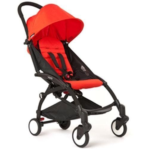 Babyzen YOYO Stroller Black Red by Babyzen | Yoyo stroller ...