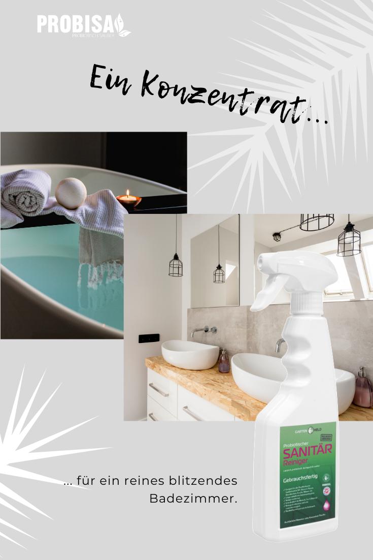 Probiotischer Sanitar Reiniger In 2020 Badezimmer