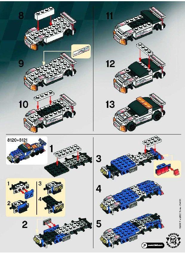 Old Lego Instructions Letsbuilditagain Lego Toys