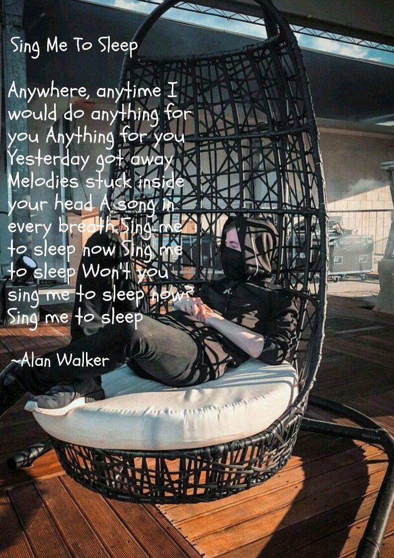 Pin By Vivian Martinez On Alan Walker Alan Walker Sing Me To